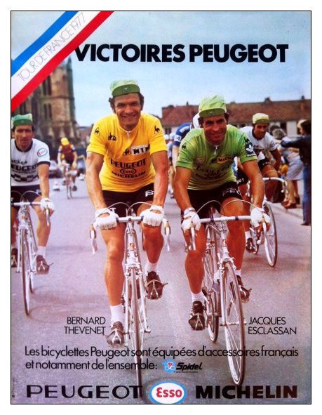 Cycles peugeot 1977