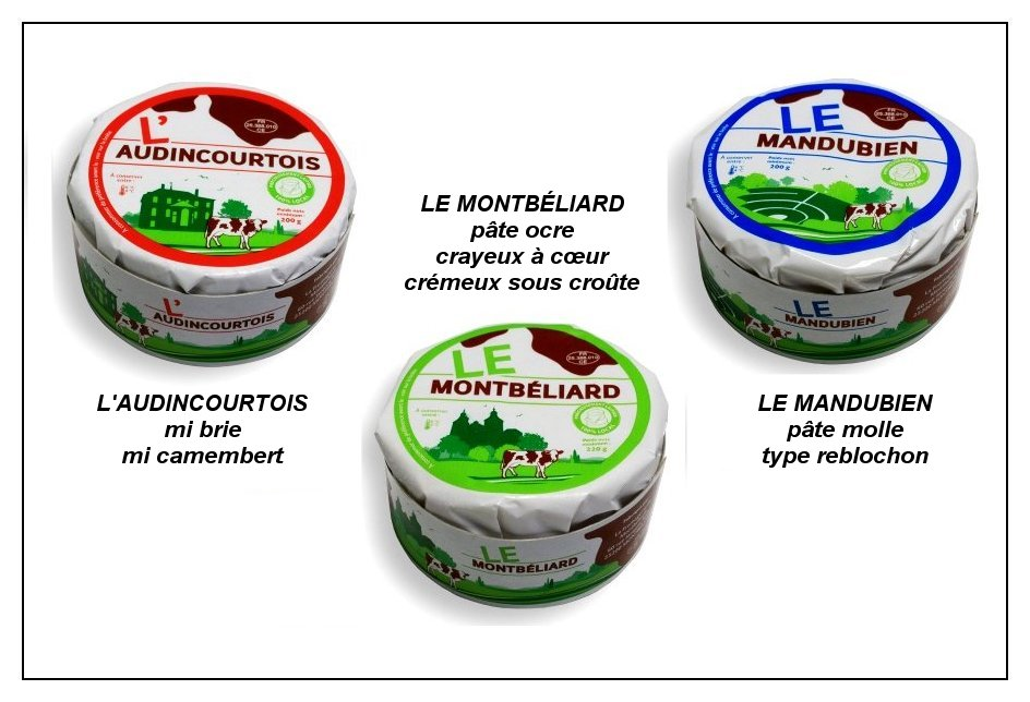 Fromages de montbeliard