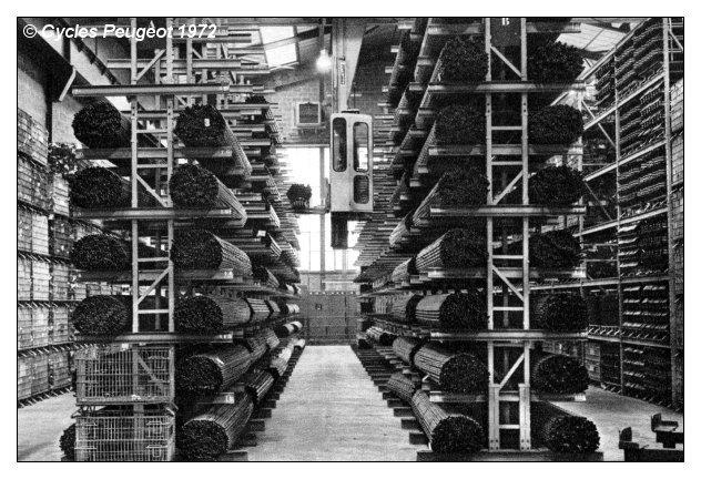 Stockage des tubes