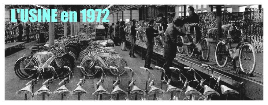 Usine en 1972